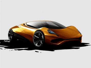 jjad p1e prototype electric supercar