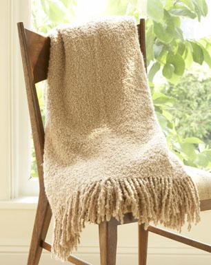 Amenity Handwoven Alpaca Throw Blanket