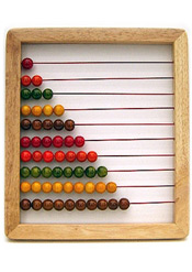 sustainable wood abacus
