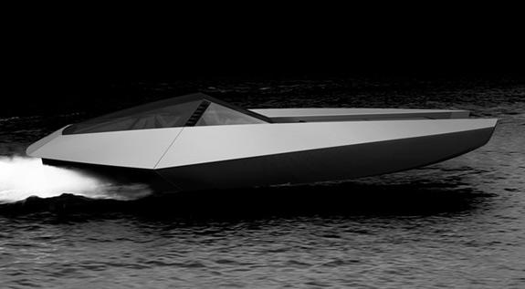 code-x hybrid luxury yacht