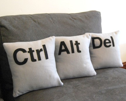 ctrl-alt-del pillows