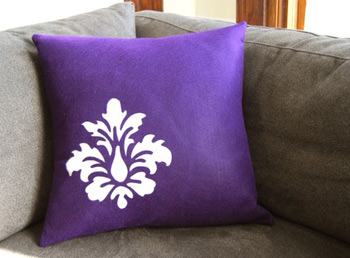 recycled plastic pillow