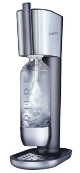 soda club pure CO2 water