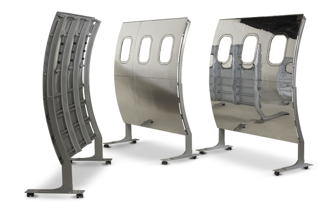 airplane fuselage dividers