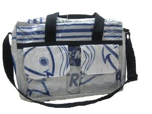 recycled food sac messenger