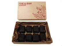 raw chocolate bonbons