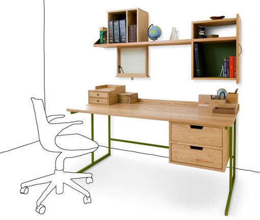 reclaimed desk