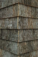 Bark Shingle Siding