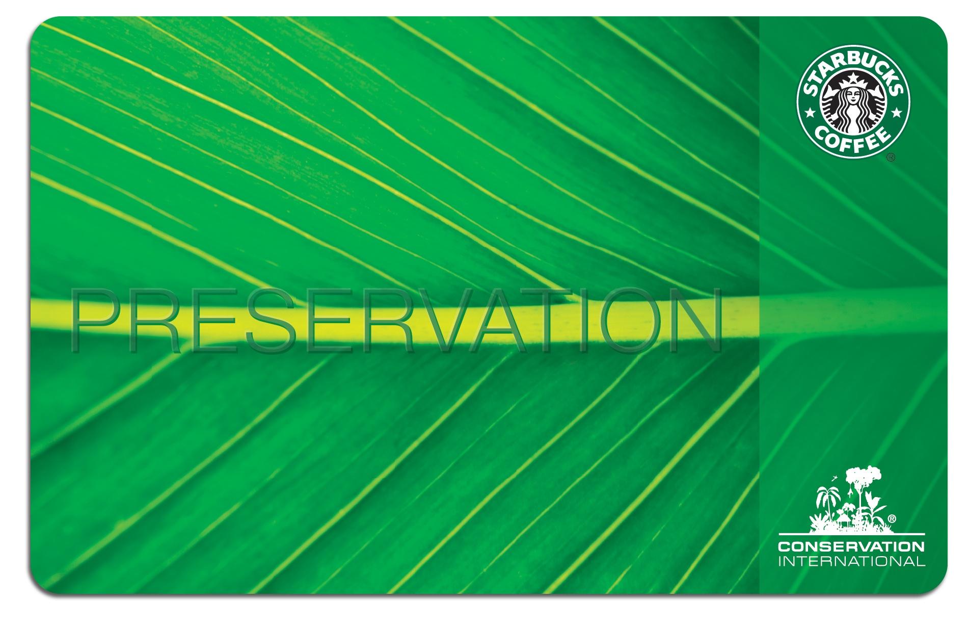 Starbucks and Conservation International