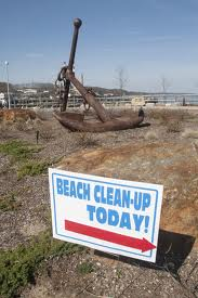 earthday beach cleanup