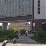 High Line through the Standard Hotel