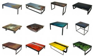 oxyd junkyard metal tables