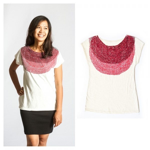 Zero waste socially responsible womens fashion tonle for Innovative things from waste material