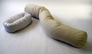 Kapok fiber body pillow