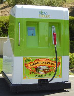 Ethanol Beer Fueling Station