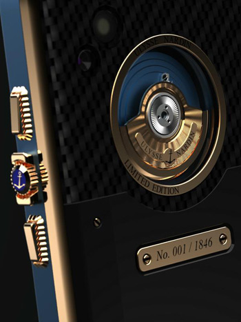 Ulysse Nardin Chairman kinetic cellphone