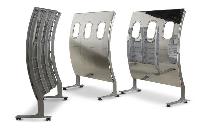 airplane fuselage dividers