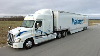 Wal-Mart Re-claimed Grease Bio-Diesel Truck