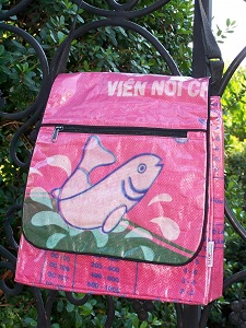 recycled rice bag