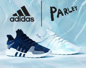 Parley and Adidas Ocean Plastic Shoe